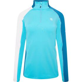 Dare 2b Default II Core Stretch LS Top Women azur blue/dark methyl/white